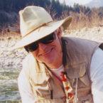 Robert L Way on Upper Pitt River :: The LOONS Flyfishing Club