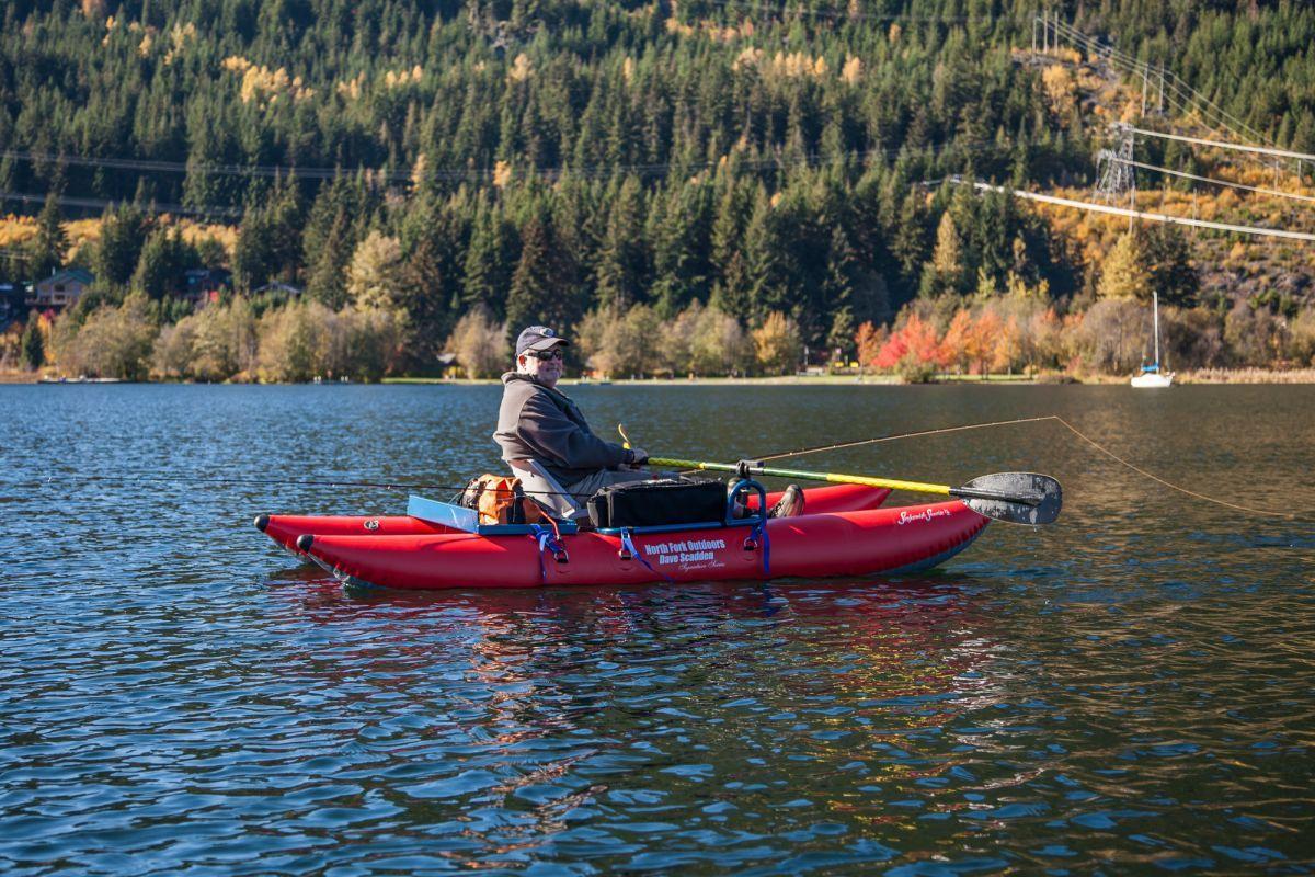 8603HS Steve Sawchuk Fishing Alta Lake