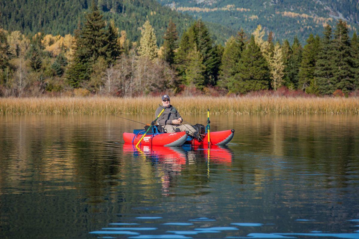 8624HS Steve Sawchuk Fishing Alta Lake